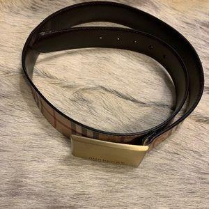 Men's Burberry belt